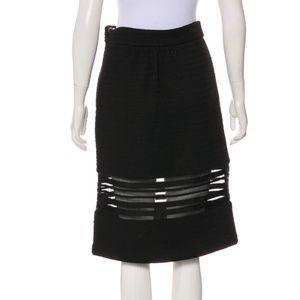 BADGLEY MISCHKA Knee Length Knit Skirt